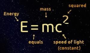 Image of E=MC squared
